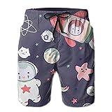 Shorts para Hombres Kawaii Japanese Cat...
