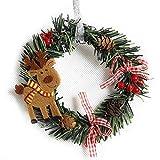 Feliz Navidad Corona Puerta de Entrada...