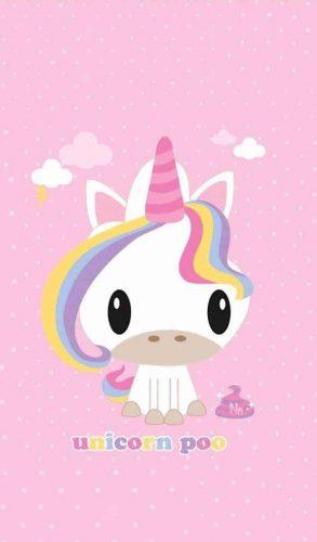 fondo de pantalla unicornio arcoiris